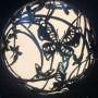 """Уличный светильник  ручной работы """"Полет бабочек"""""""