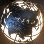 """Кованый светильник """"Глобус"""""""