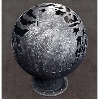Мангал-вставка с вертелом для костровых  сфер