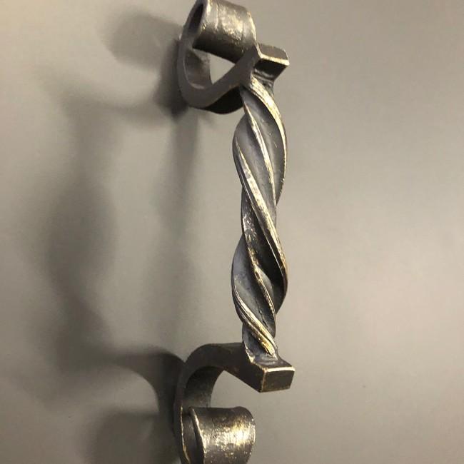 Крышка для костровой чаши с коваными ручками
