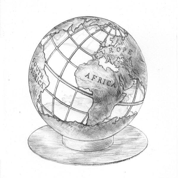Сфера для костра ''Глобус''